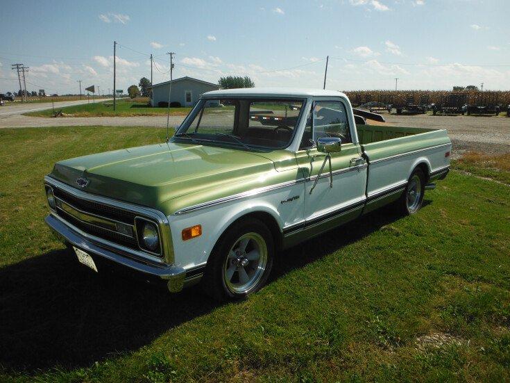 1969 Chevrolet C K Truck Custom Deluxe For Sale Near La Harpe