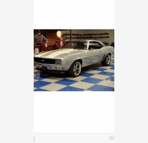 1969 Chevrolet Camaro Coupe for sale 101010351