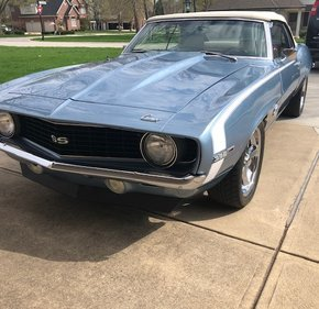 1969 Chevrolet Camaro SS Convertible for sale 101291469