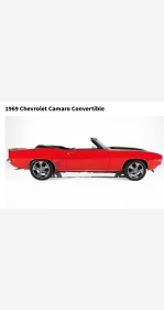 1969 Chevrolet Camaro SS Convertible for sale 101364335