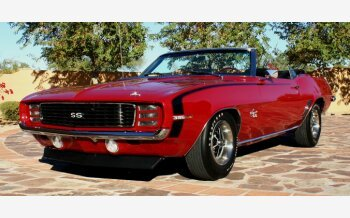 1969 Chevrolet Camaro SS Convertible for sale 101452078