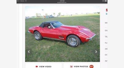 1969 Chevrolet Corvette for sale 101380621