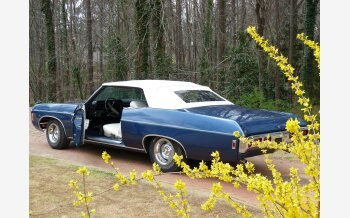 1969 Chevrolet Impala Convertible for sale 101525965