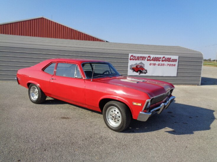 1969 Chevrolet Nova For Sale Near Staunton Illinois 62088