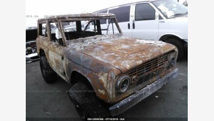 1969 Ford Bronco for sale 101217426