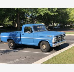 1969 Ford F100 2WD Regular Cab for sale 101179991