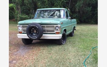 1969 Ford F100 2WD Regular Cab for sale 101224148