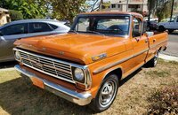 1969 Ford F100 2WD Regular Cab for sale 101241509