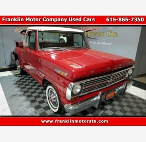 1969 Ford F100 for sale 101315239