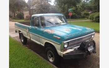 1969 Ford F250 4x4 Regular Cab for sale 101021370