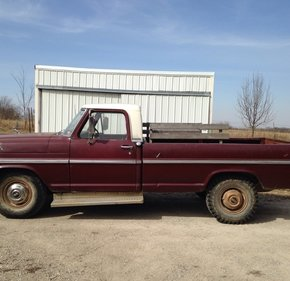 1969 Ford F250 2WD Regular Cab for sale 101071249