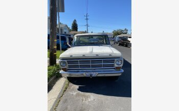 1969 Ford F250 2WD Regular Cab for sale 101282716