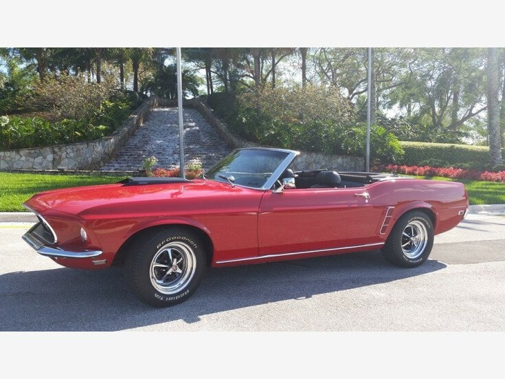 1969 Ford Mustang Convertible Car For In Lake Worth Florida 33449