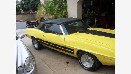 1969 Pontiac Firebird for sale 100959980