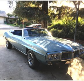 1969 Pontiac Firebird Convertible for sale 101092499