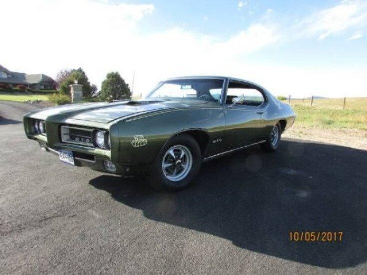 1969 Pontiac GTO for sale near Cadillac, Michigan 49601