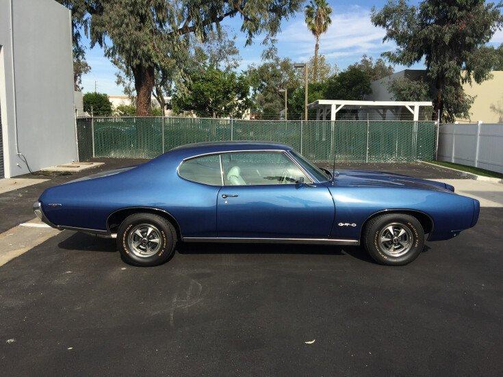 1969 Pontiac GTO for sale near Irvine, California 92614
