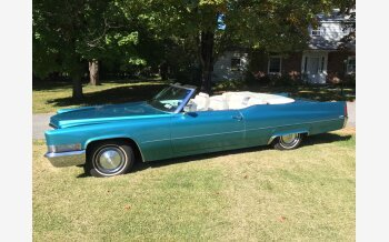 1970 Cadillac De Ville Coupe for sale 101200323