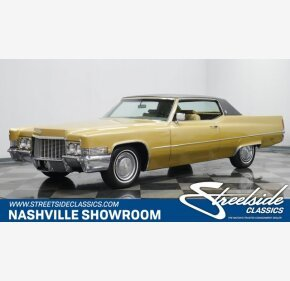 1970 Cadillac De Ville for sale 101366587