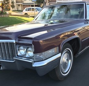 1970 Cadillac Fleetwood Brougham for sale 100952231