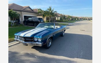 1970 Chevrolet Chevelle SS for sale 101328445