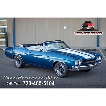 1970 Chevrolet Chevelle SS for sale 101431309