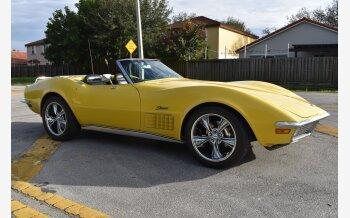 1970 Chevrolet Corvette Convertible for sale 101457202