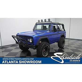 1970 Ford Bronco for sale 101006574