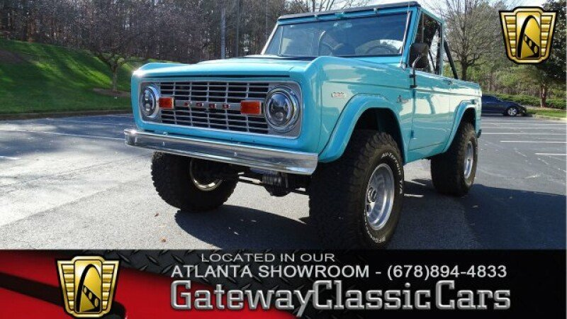 Ford Bronco Classics For Sale