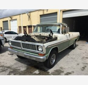 1970 Ford F100 for sale 101264820