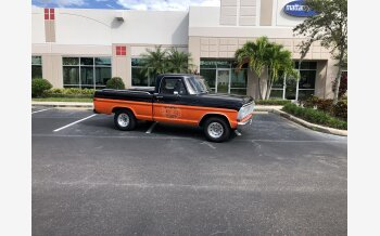 1970 Ford F100 2WD Regular Cab for sale 101397350