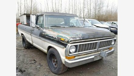 1970 Ford F250 for sale 101112186