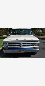 1970 Ford F250 2WD Regular Cab for sale 101229716