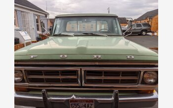 1970 Ford F250 2WD Regular Cab for sale 101564063