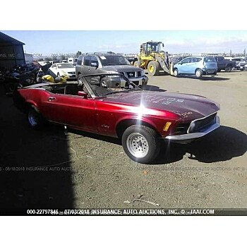 1970 Ford Mustang for sale 101016162