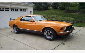 1970 Ford Mustang Mach 1 Coupe for sale 101235139
