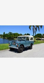 1970 Land Rover Series II for sale 100982266