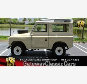 1970 Land Rover Series II for sale 100993870