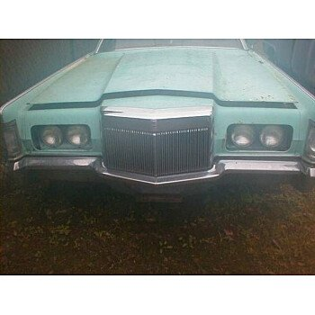 1970 Lincoln Continental for sale 100825191