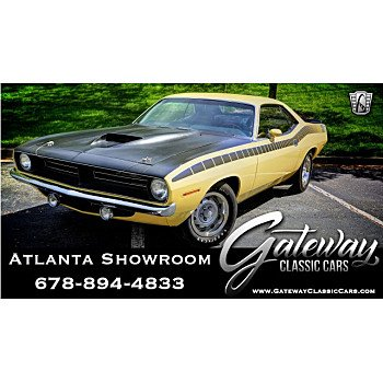 1970 Plymouth Barracuda for sale 101124948