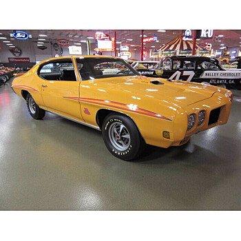 1970 Pontiac GTO for sale 101420754