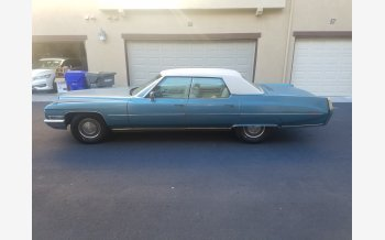 1971 Cadillac De Ville Touring Sedan for sale 101258366