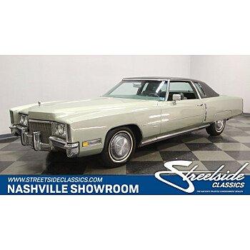 1971 Cadillac Eldorado for sale 101103296