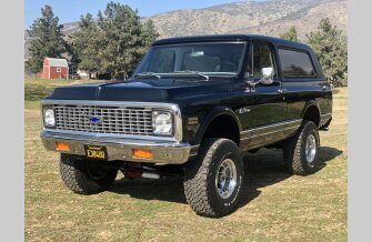 1971 Chevrolet Blazer 4WD 2-Door for sale 101274372