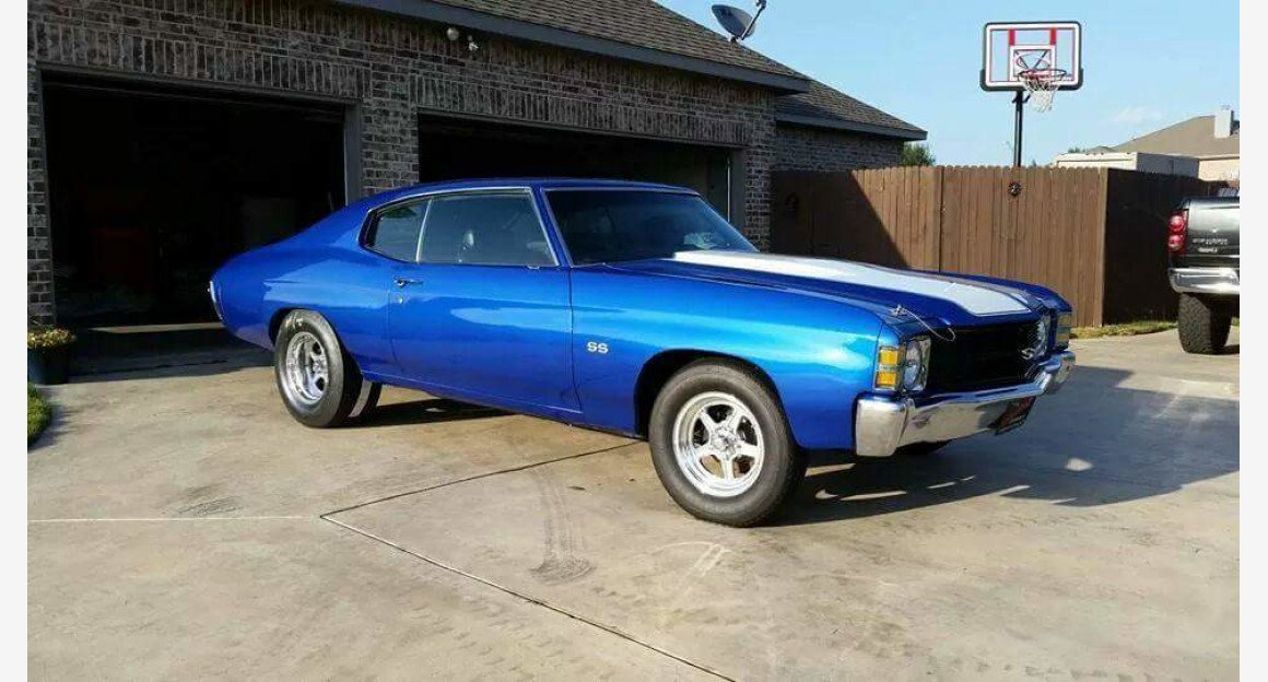 1971 Chevrolet Chevelle SS for sale 101052062