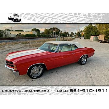 1971 Chevrolet Chevelle for sale 101088620