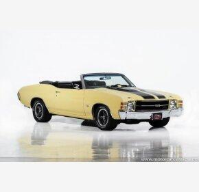 1971 Chevrolet Chevelle for sale 101051499