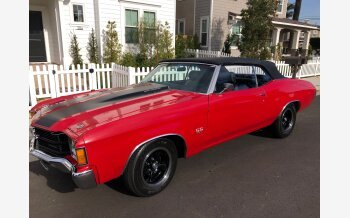 1971 Chevrolet Chevelle SS for sale 101068701