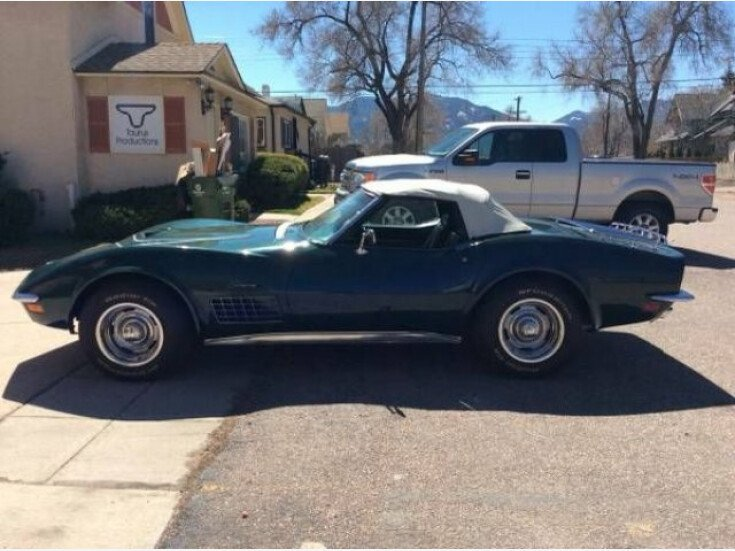1971 Chevrolet Corvette Convertible for sale 101264424