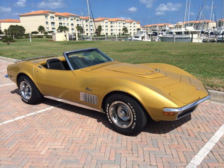 1971 Chevrolet Corvette Convertible for sale 101396590